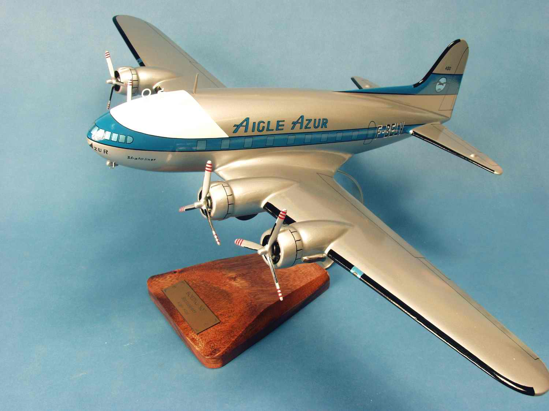 Maquette Avion BOEING 307 Stratoliner AIGLE AZUR 1/55