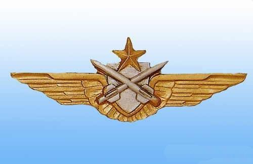 Insigne Brevet Pilote Tireur Missile ALAT