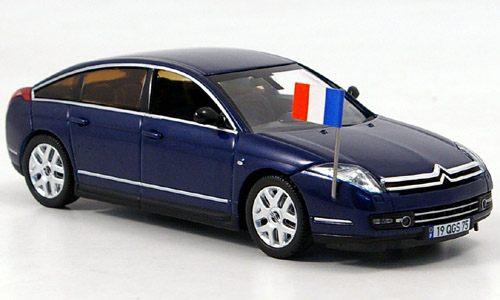 CITROËN C6 Limousine Présidentielle 2005 au 1/43