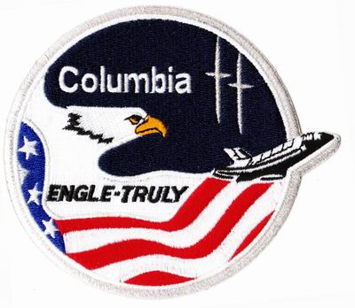 Patch NASA Navette Spatiale Columbia Mission STS-2 Engle - Truly