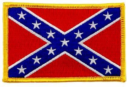 Patch Drapeau Confédéré Sudiste USA