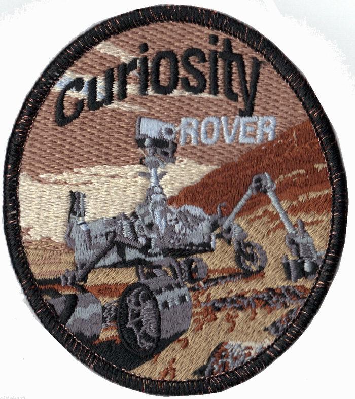 Ecusson NASA Curiosity ROVER