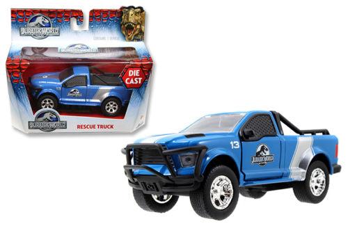 DODGE Rescue Truck en Métal du Film Jurassic World 2015