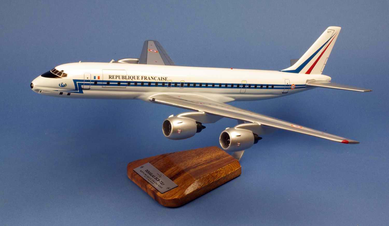 Maquette Douglas DC8-72CF ET 03.060 Estérel REPUBLIQUE FRANCAISE