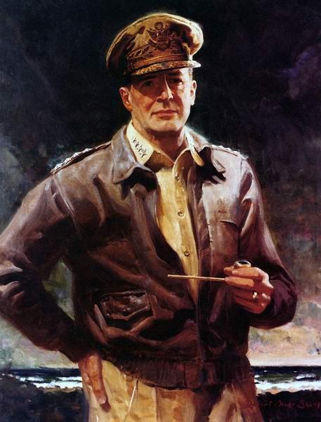 Général Douglas MacArthur 1942 Cockpit Avirex