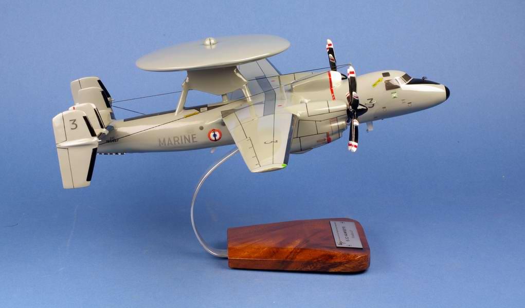 Avion militaire E-2C Hawkeye Marine Nationale Aéronavale