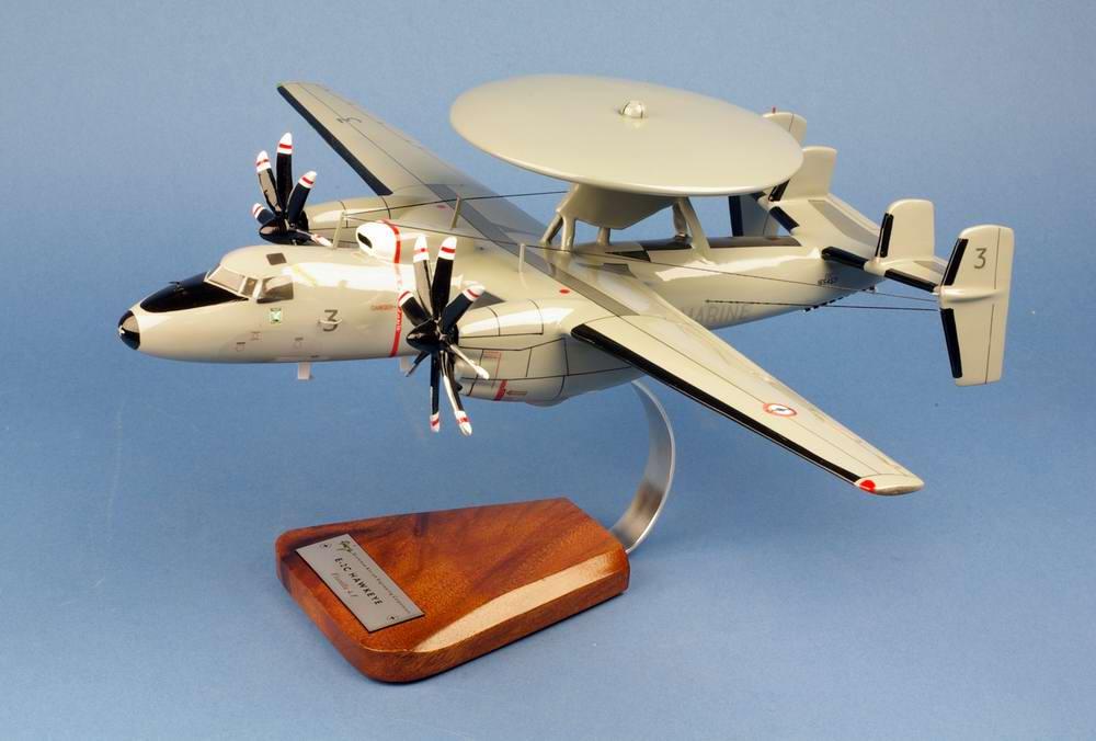 Avion militaire E2C Hawkeye Marine Nationale Aéronavale