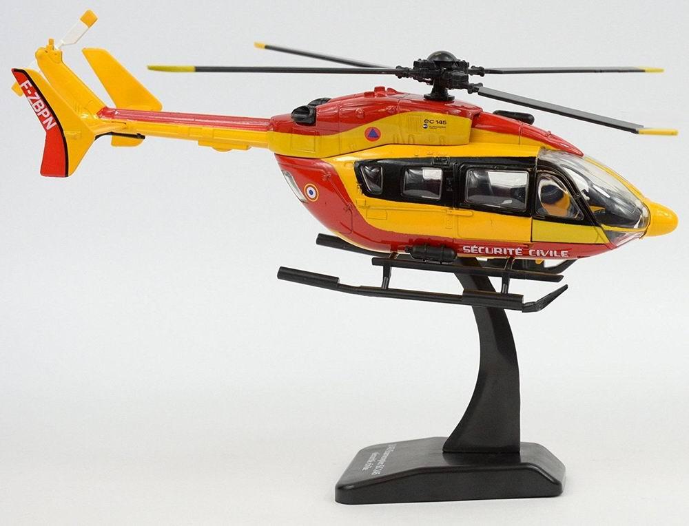 maquette Hélicoptère EC145 dragon pompier 1/43