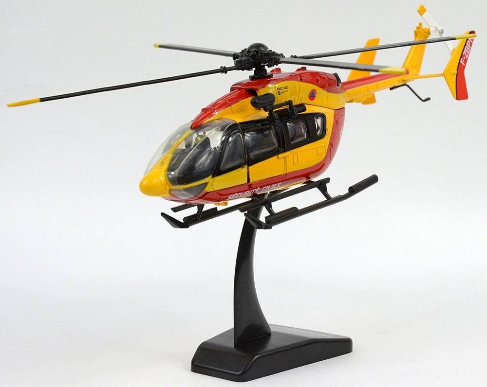 maquette Hélicoptère EC-145 dragon pompier 1/43