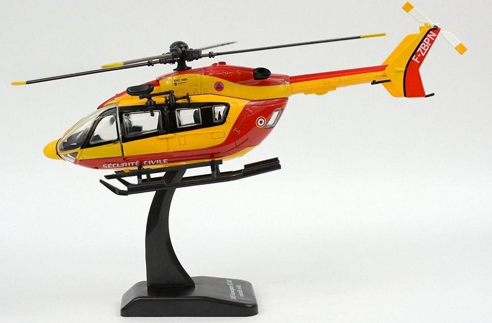 maquette Hélicoptère EC-145 pompier 1/43