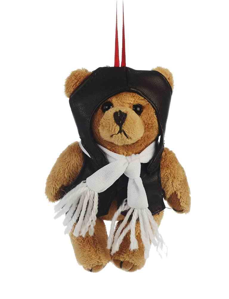 Peluche Mini Ourson Aviateur Pilote 12 cm Teddy Bear