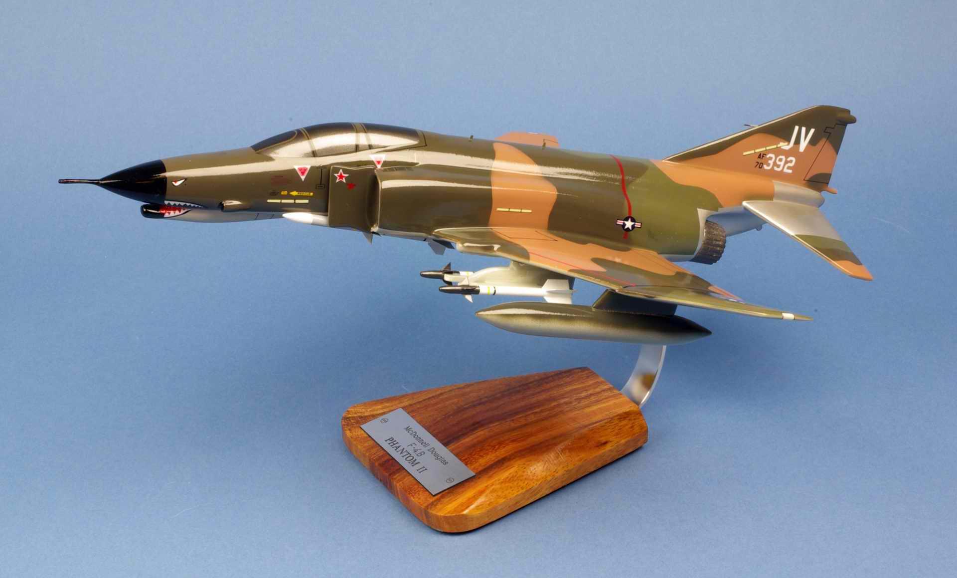 Maquette Avion de Chasse F-4E Phantom II 34TFS/388TFW USAF