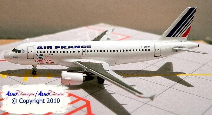 Maquette Airbus A319-111 Air France