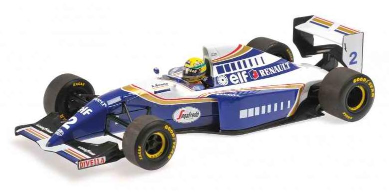 FORMULE 1 WILLIAMS RENAULT FW16 AYRTON SENNA 1994 1/18 MINICHAMPS