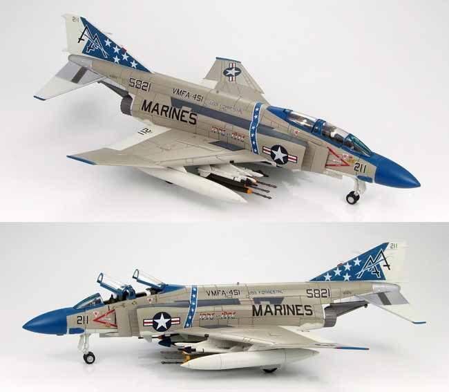McDonnell Douglas F-4J Phantom II VMFA-451 USS Forrestal 1976