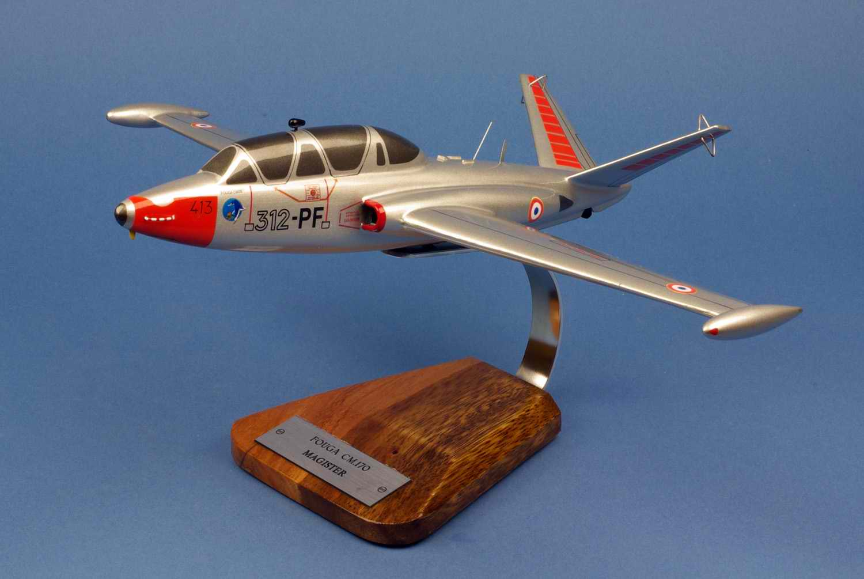 Maquette Avion Fouga Magister CM.170 GI312 Salon de Provence