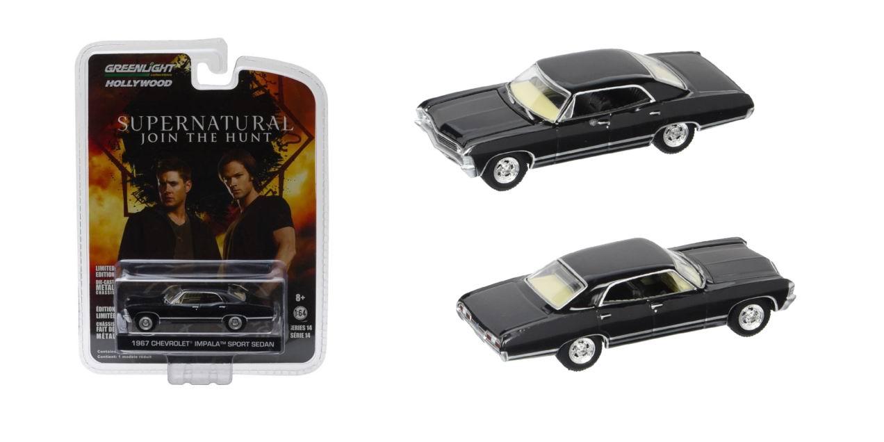 Voiture CHEVROLET Impala SUPERNATURAL 1/64