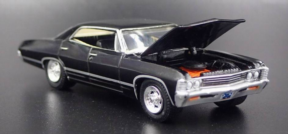 Voiture en métal CHEVROLET Impala SUPERNATURAL 1/64