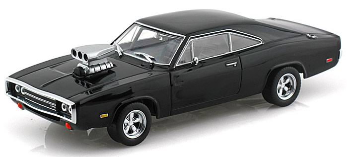 Voiture miniature Dodge Charger RT 1970 Fast and Furious Die Cast 1/43ème