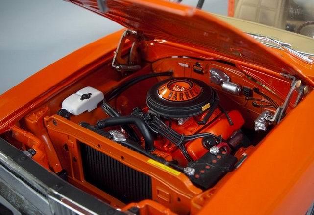 Dodge Charger 1969 avec antenne