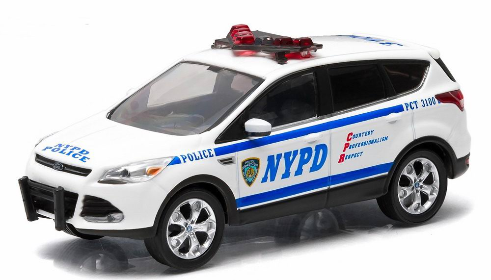 Voiture FORD ESCAPE 2014 NYPD NEW YORK POLICE DEPARTMENT 1/43