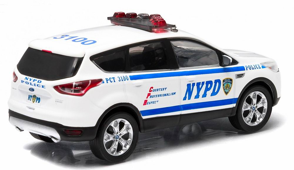 Véhicule FORD ESCAPE 2014 NYPD NEW YORK POLICE DEPARTMENT 1/43