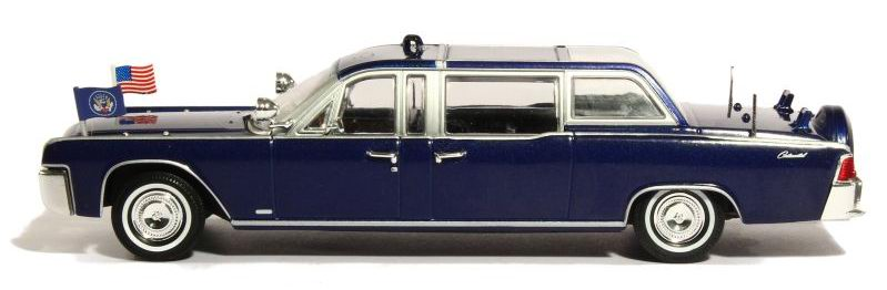 Lincoln CONTINENTAL SS-100-X 1961 Voiture Présidentielle JFK Kennedy 1/43