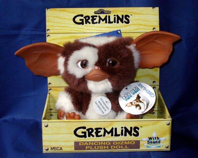 Gremlins Gizmo Neca Peluche 14 Cm