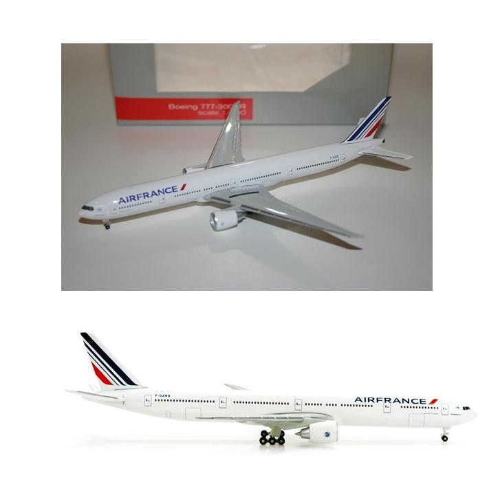 Maquette BOEING 777-300ER Air France 1/500