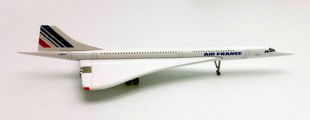 Maquette métal concorde Air France au 1/500 F-BVFD
