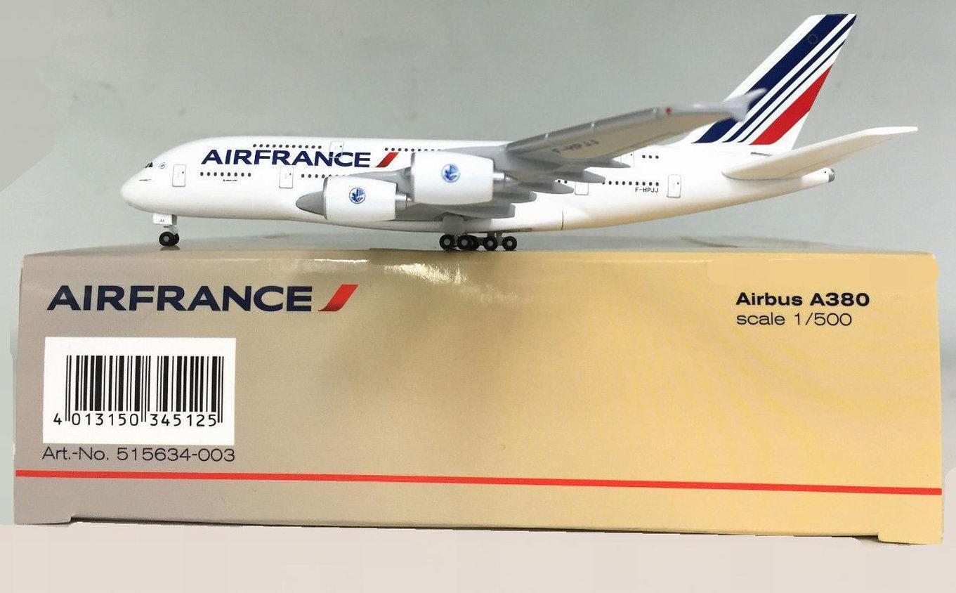 Maquette Airbus A380-800 Air France 1/500