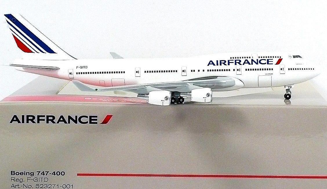 Maquette BOEING 747-400 Air France F-GITD
