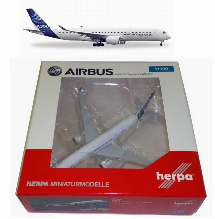 Maquette Airbus A350 XWB 1/500 Herpa