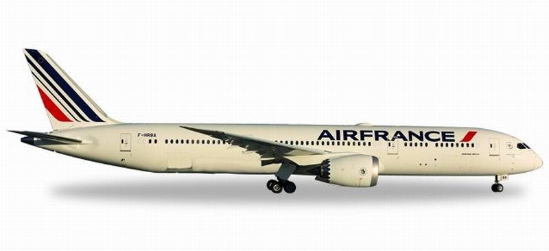 Maquette BOEING 787-9 Dreamliner métal AIR FRANCE 1/500