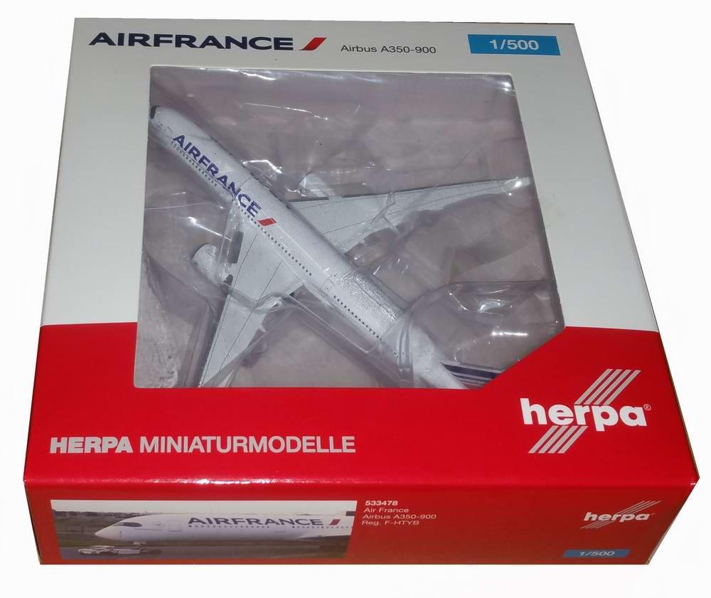 Maquette avion de ligne Air France airbusA350-900