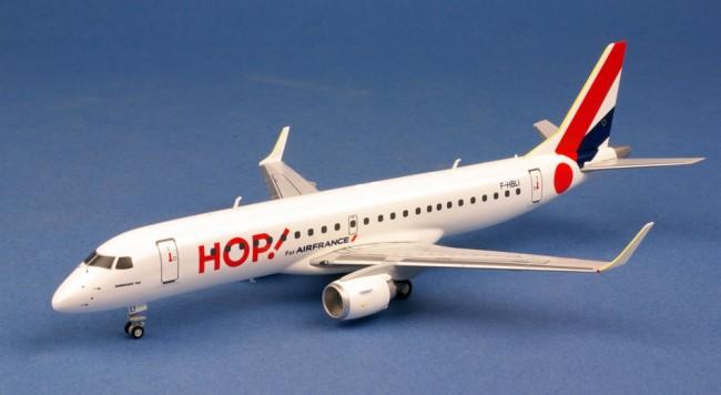 HOP ! For AIR FRANCE EMBRAER 190 au 1/200 Immatricul F-HBLI