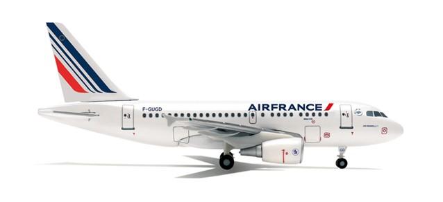 AIRBUS A318 AIR FRANCE nouvelles couleurs 2009 1/400
