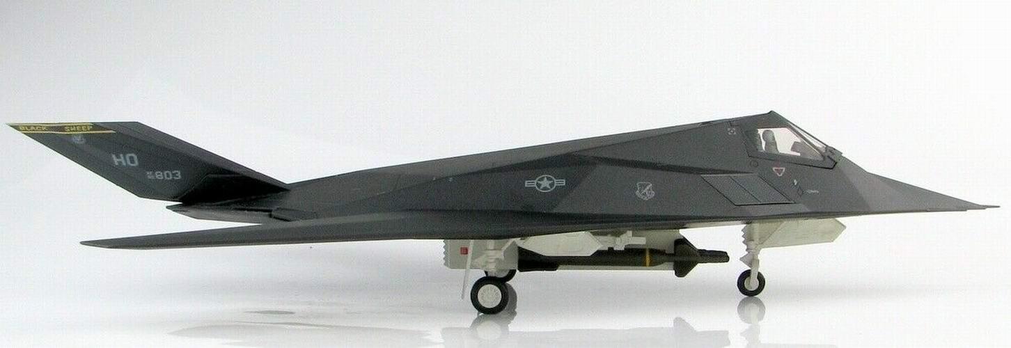 Maquette avion F117 Nighthawk Kosovo 1/72