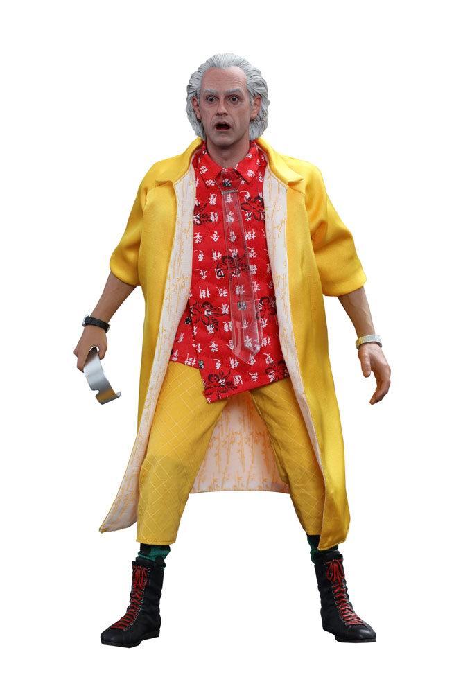 Figurine de Doc Docteur Emmett Brown du film Retour vers le Futur 2
