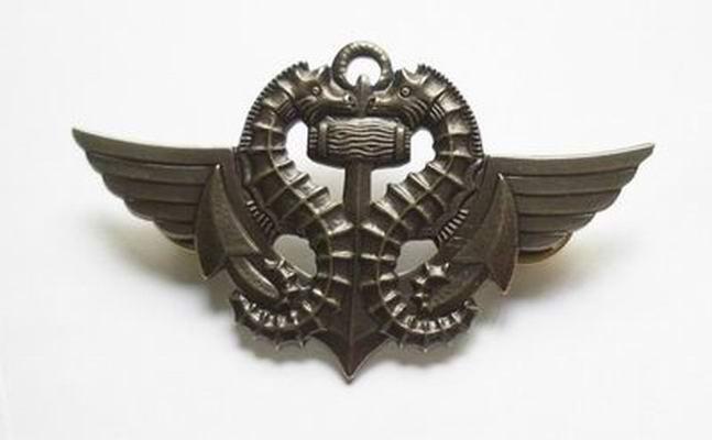 Insigne Nageur de Combat Force Spéciale Commando de la Marine Nationale