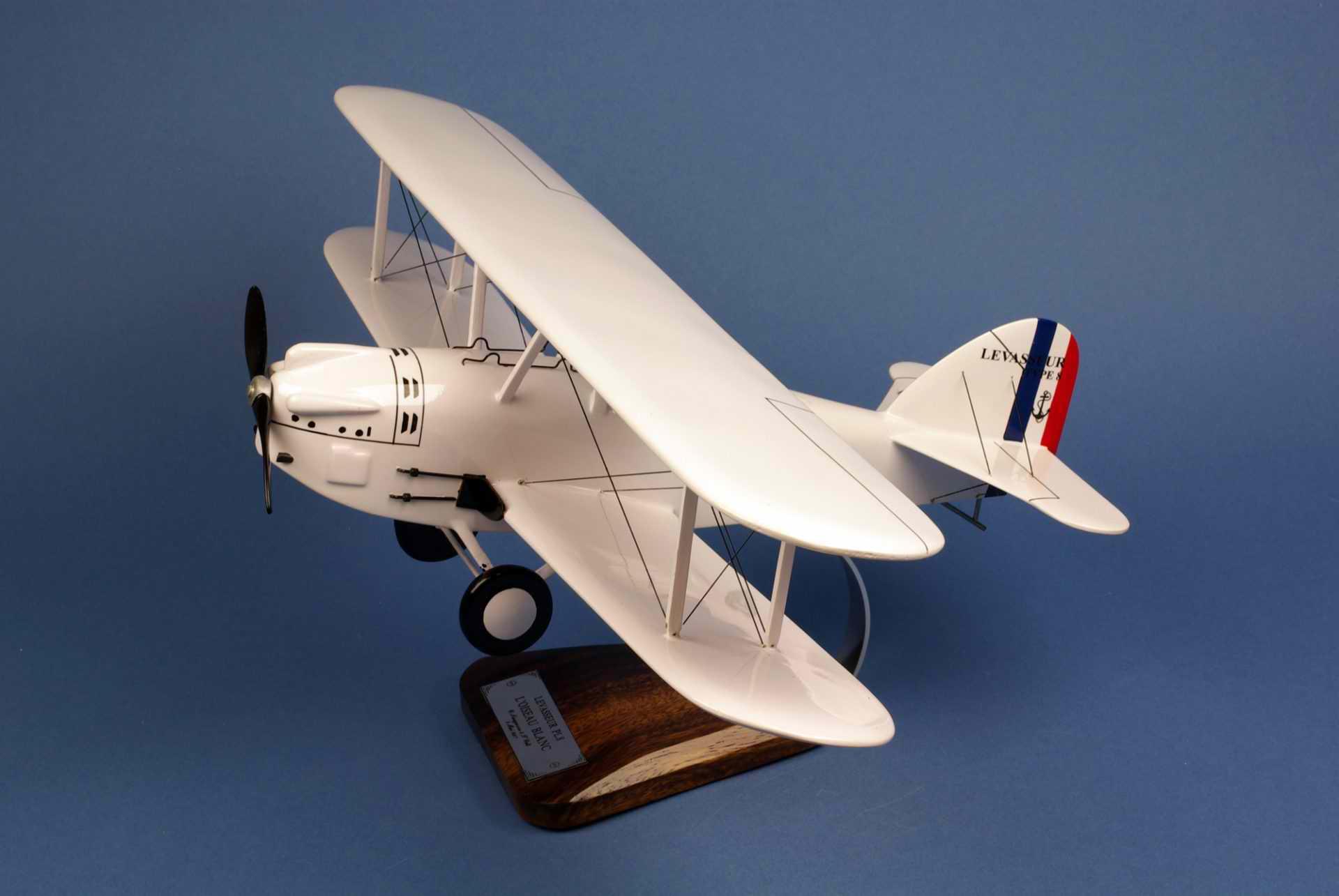Maquette Avion LEVASSEUR PL8 Oiseau Blanc Nungesser & Coli 1/28