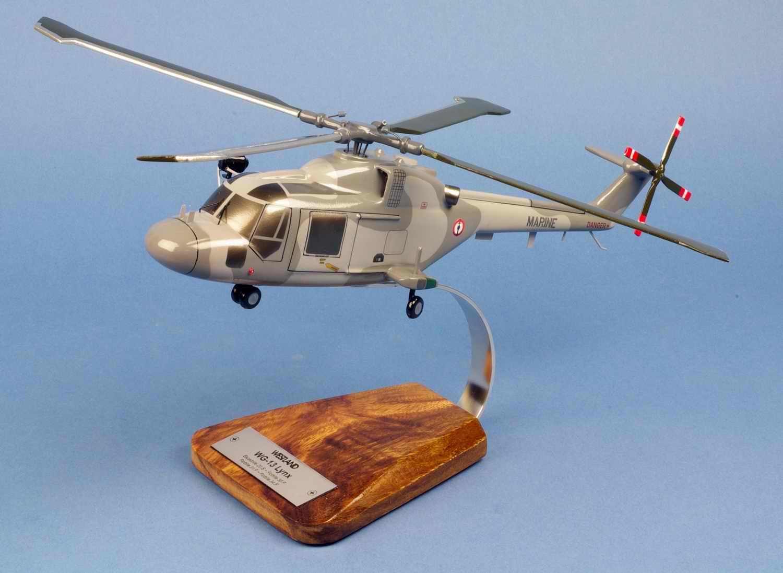 Maquette Hélicoptère LYNX WG13 Aéronavale 1/35