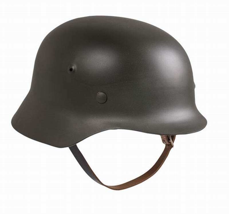 Casque Soldat Nazi Allemand M35 guerre 39-45