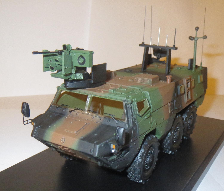 Renault Véhicule de l'Avant Blindé VAB MK.III Vert OTAN MASTER FIGHTER BY GASO.LINE