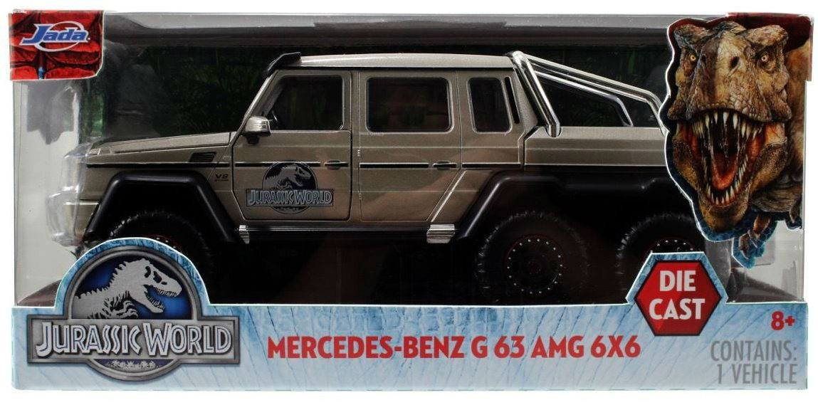 MERCEDES-BENZ G63 6x6 AMG en Métal du Film Jurassic World 2015