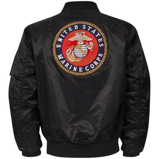 Blouson Bombers Flight Jacket MA-1 Boys Marine Corps Alpha Industries