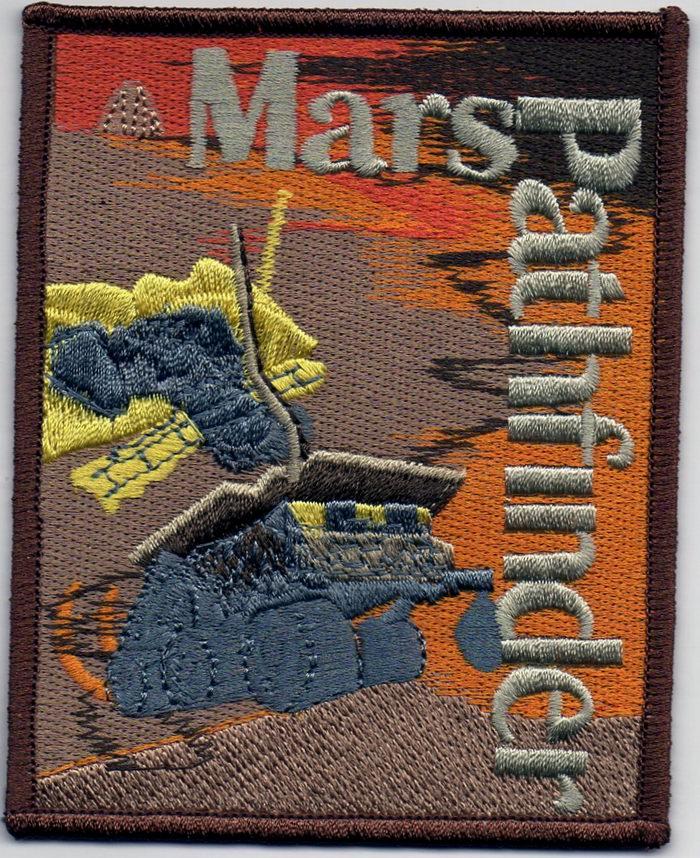 Ecusson NASA MARS Pathfinder Sojourner