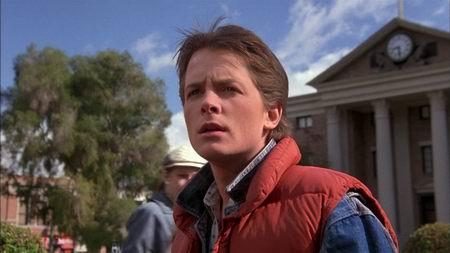Marty McFly Retour vers le Futur