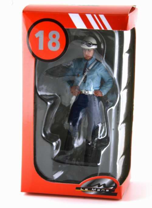 Figurine 1/18 Michel Motard POLICE NATIONALE Policer motocycliste 1975 1980