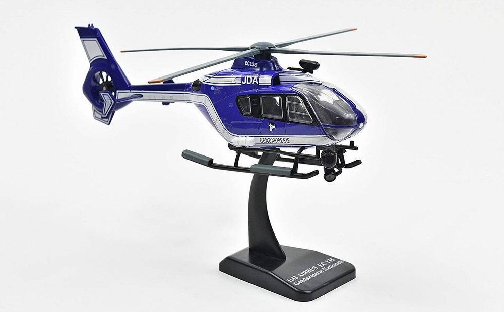 Maquette Eurocoptère EC135 Gendarmerie Nationnale Française 1/43